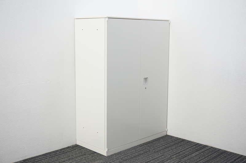 オカムラ レクトライン 両開き書庫 天板付 H1265 ZA75色