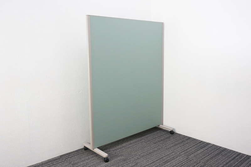 コクヨ パネルスクリーン 全面クロス グリーン W1230 D460 H1500 (2)