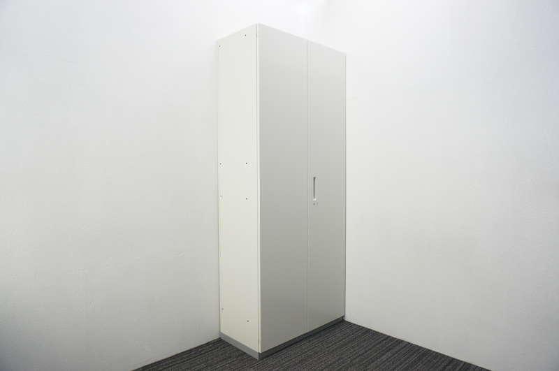 プラス L6 両開き書庫 H2150 ホワイト