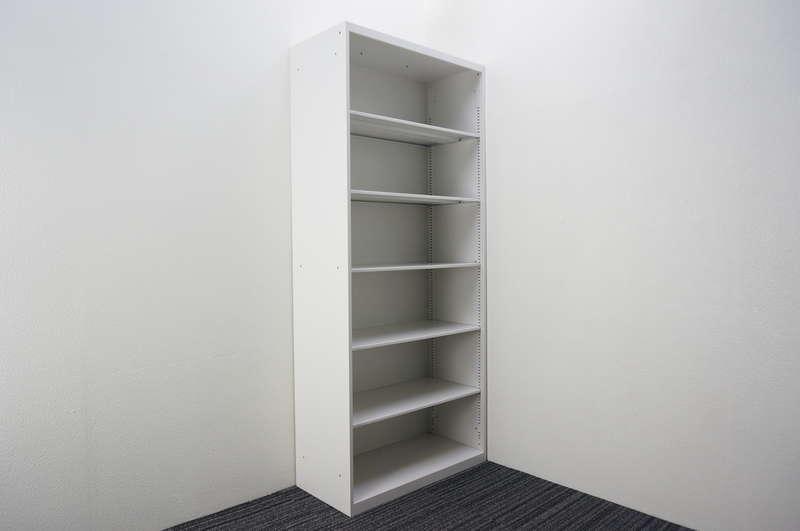 イトーキ シンライン オープン書庫 ベース無し D430 H2076 W9色