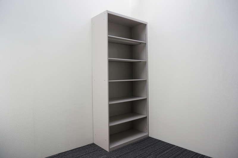 イトーキ シンライン オープン書庫 ベース無し D430 H2076 WE色