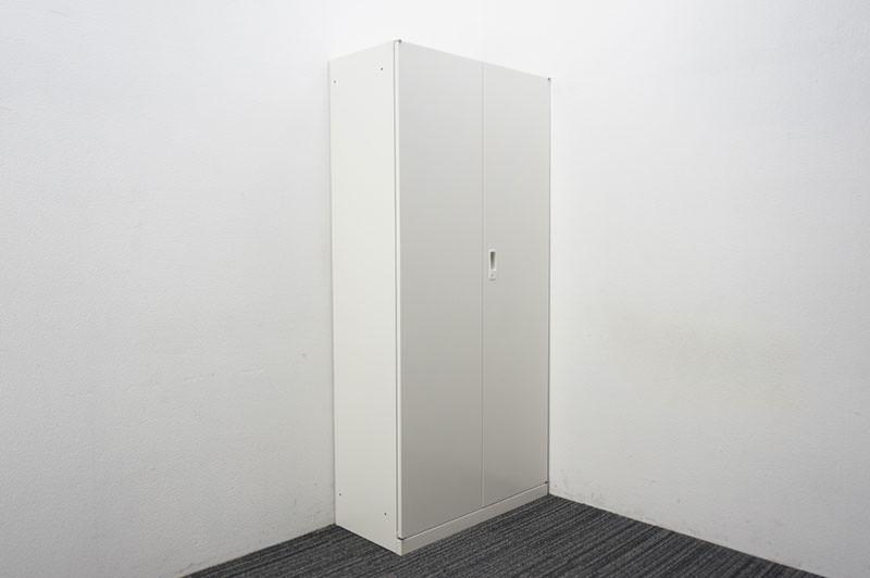 セイコー ANW 両開き書庫 W880 D400 H1850 ホワイト