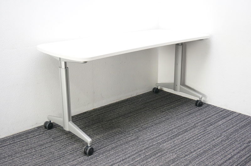 オカムラ ネオフィット メインテーブル キャスター脚 1570 H700-720-740