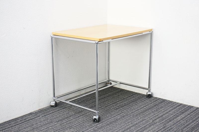 USMハラー サイドテーブル キャスター付 W770 D545 H650