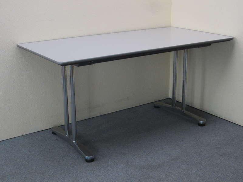 オカムラ インターレイス ミーティングテーブル 1575 H720 ライトグレー