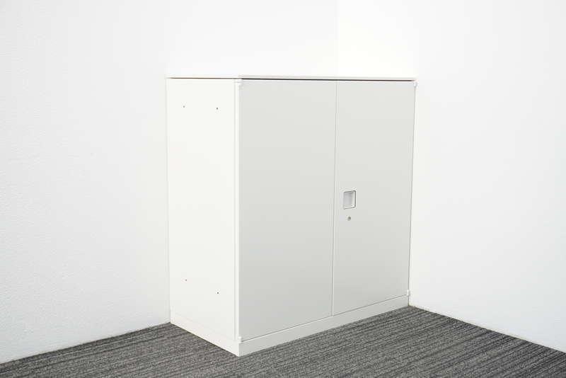 オカムラ レクトライン 両開き書庫 天板付 H965 ZA75色