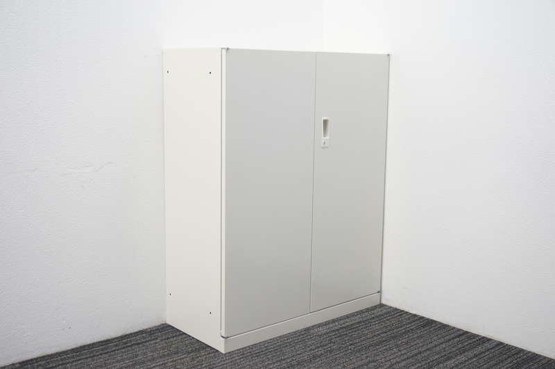 セイコー 両開き書庫 W880 D400 H1120 ホワイト