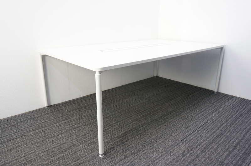 イトーキ コムネット ミーティングテーブル 2112 ホワイト
