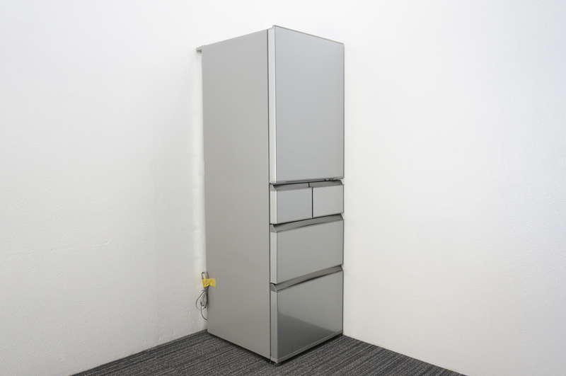 AQUA ノンフロン冷凍冷蔵庫 AQR-SD42D(S) 415L 2015年製