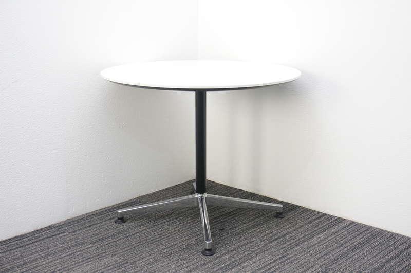 コクヨ ジュート 丸テーブル Φ900 H720 ホワイト