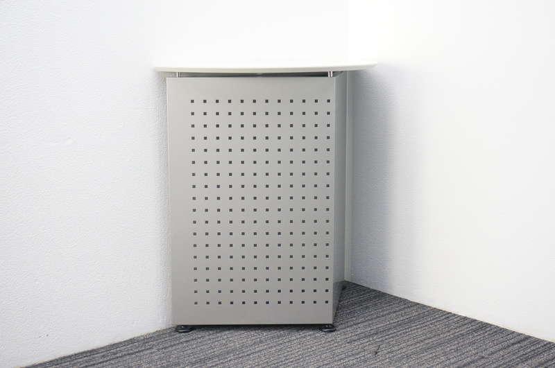 イトーキ 無人インフォメーションカウンター シルバーメタリック/ホワイト W900 D400 H900