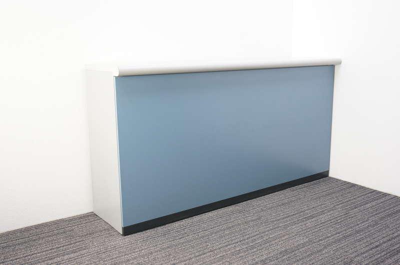 イトーキ NK ハイカウンター ソフトブルー W1800 D500 H950
