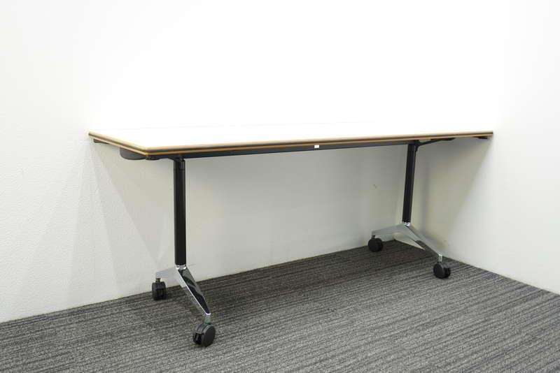 ウィルクハーン タームテーブル フラップテーブル 1860 H730 ホワイト