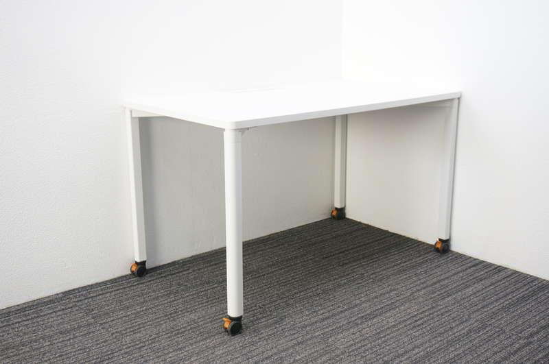 ウチダ プレナ ミーティングテーブル 1270 キャスター脚 ホワイト