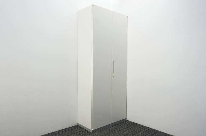 イナバ リベスト 両開き書庫 H2160 ホワイト