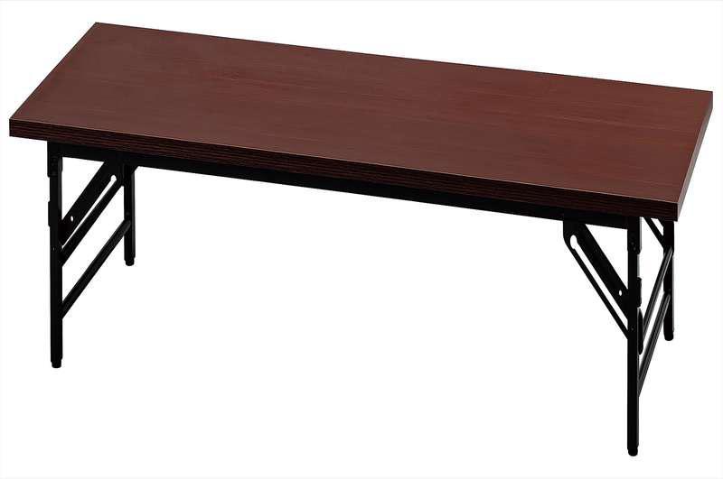 【新品 メーカー直送のみ 代引き不可 天板カラー2色】イノウエ UMT 座卓折りたたみテーブル 1860