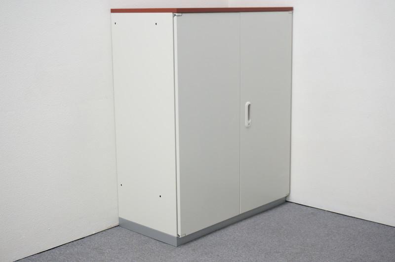 プラス LINX LX-5 両開き書庫 天板付(ペア) H1120