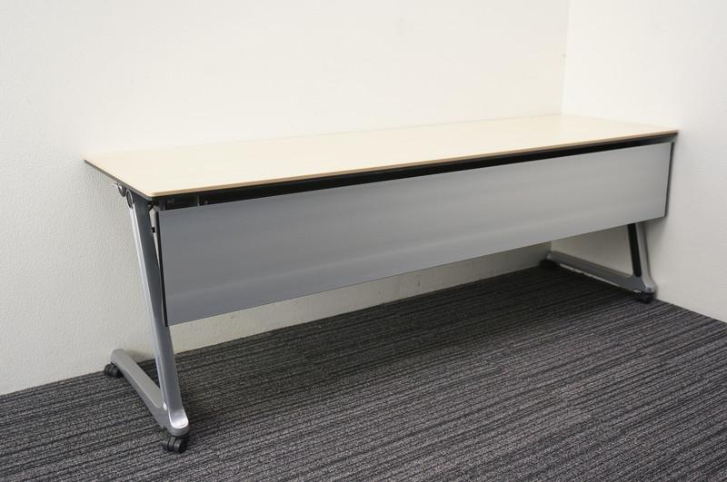 オカムラ インターアクトプロ フラップテーブル 2160 ライトプレーン