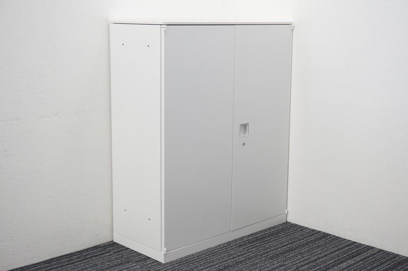 オカムラ レクトライン 両開き書庫 天板付 W900 D400 H1115