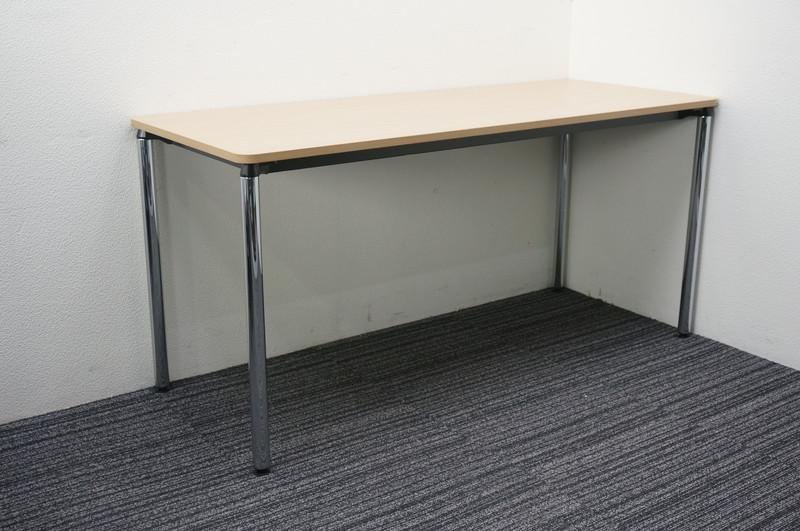 【B級 未使用品】 イトーキ DC ミーティングテーブル 1560 ファインウォールナットL