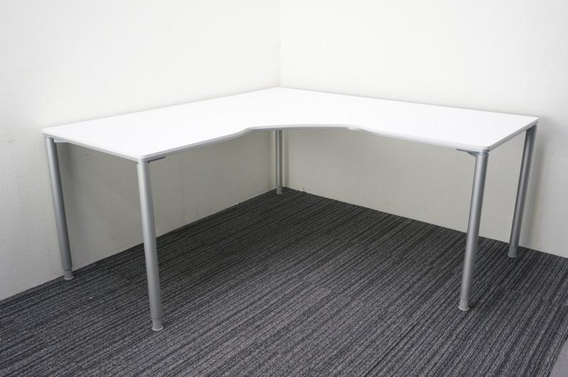 オカムラ アプションフリー フレキシブルテーブル 90°タイプ 1616 H720 ホワイト