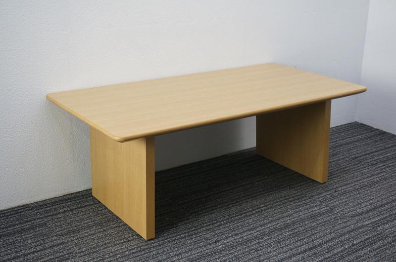 【B級 未使用品】 イトーキ XW 応接センターテーブル W1200 D600 H450 オーク