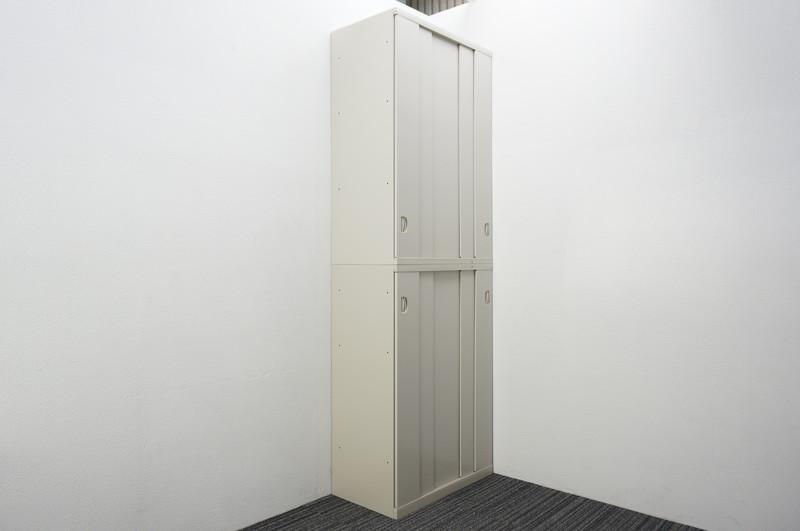 オカムラ SA 5枚スライド2段書庫 W800 D450 H2380 Z13色