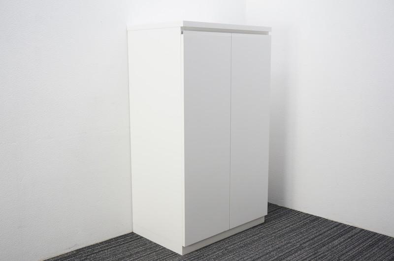 木製棚 W750 D500 H1300 ホワイト