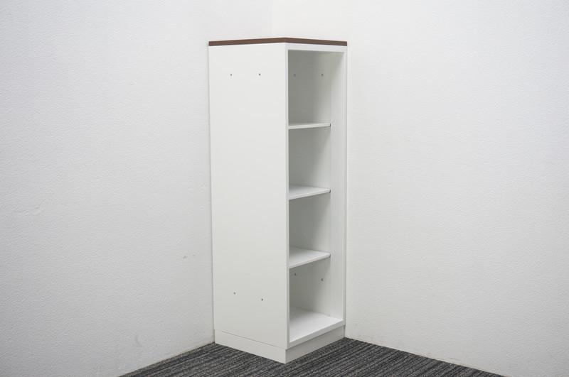 コクヨ エディア オープン書庫 天板付 W400 D400 H1265
