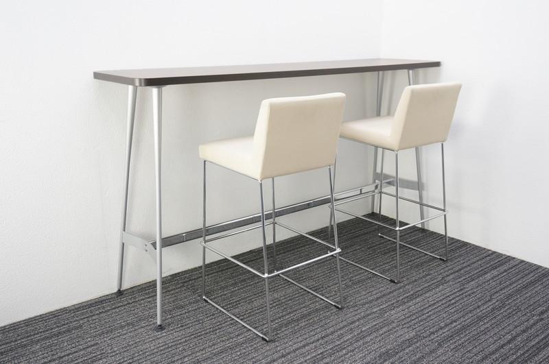 コクヨ イートイン ハイテーブル 1845 + ハイチェア 2脚セット