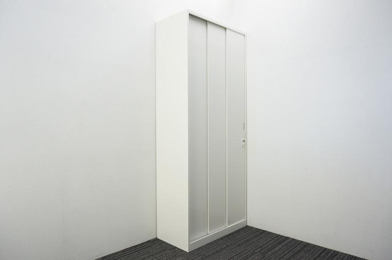 オカムラ レクトライン ダイヤル式3枚引戸書庫 H2150 ZA75色