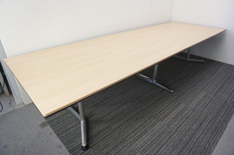 オカムラ ラティオ2 ミーティングテーブル 3612 ネオウッドライト