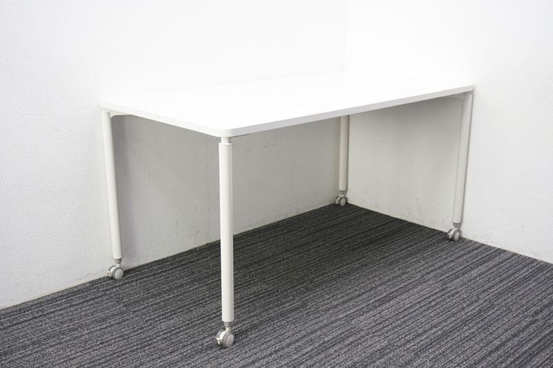 イトーキ コムネット ミーティングテーブル 1475 ホワイト キャスター付