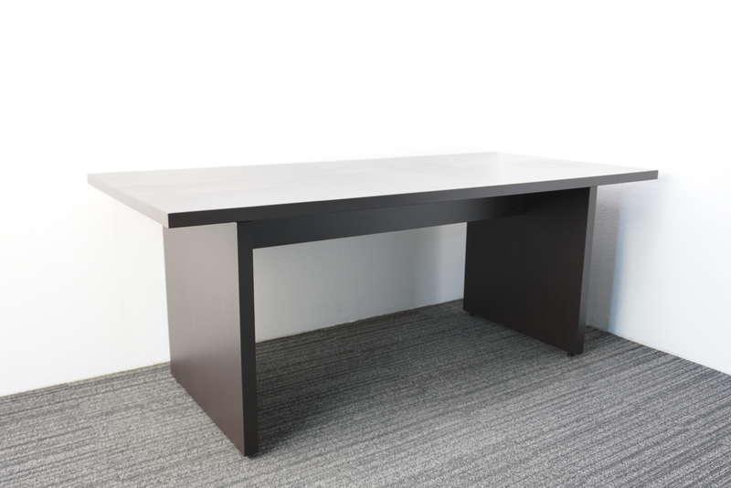 【2017年製】コクヨ マネージメントS370 ミーティングテーブル 1885 ウェンジブラウン