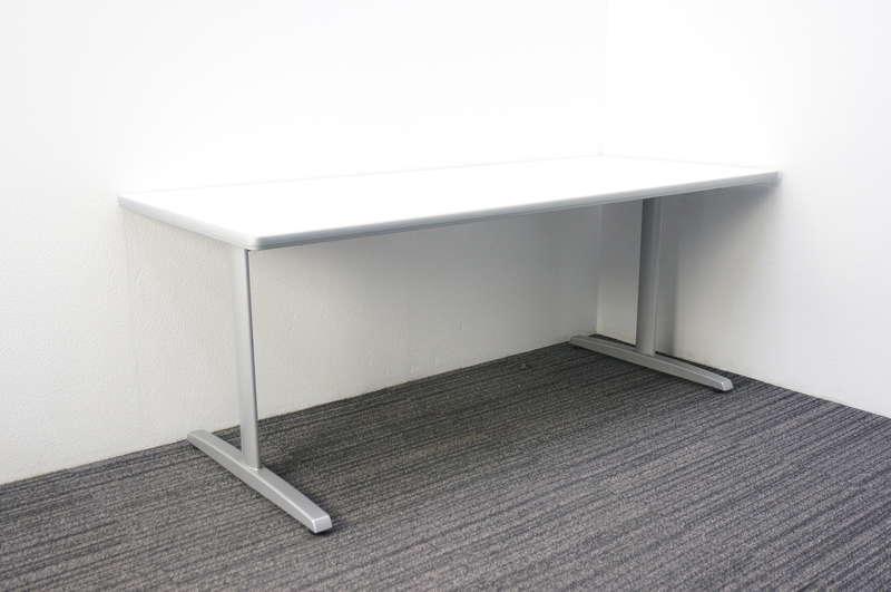 オカムラ 8177 ミーティングテーブル 1875 ホワイト