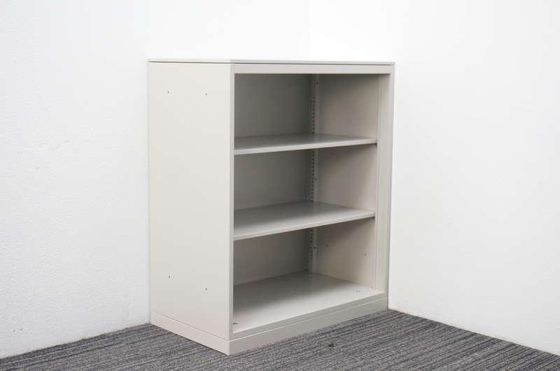 オカムラ レクトライン オープン書庫 天板付 W800 D450 H965 Z13色