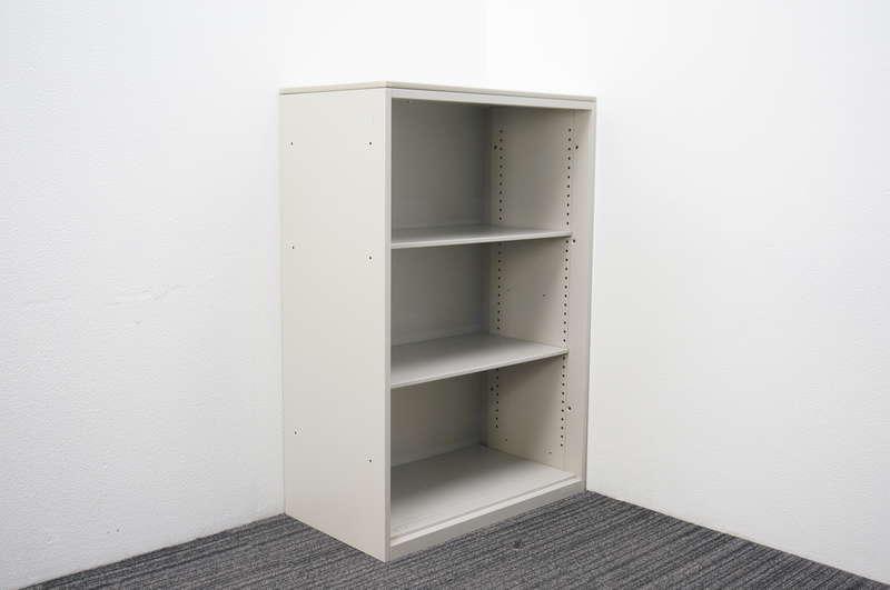 オカムラ SA オープン書庫 天板付 W800 D450 H1204