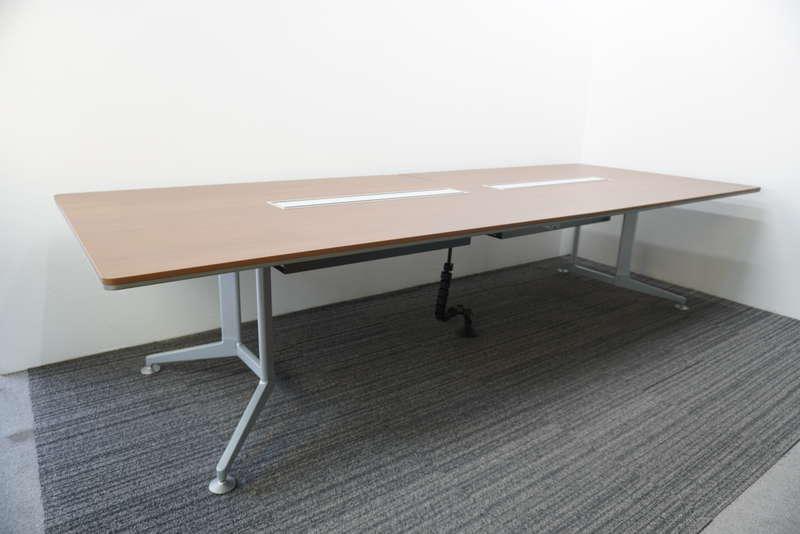 コクヨ WT-300 ミーティングテーブル 3212 ブラウン