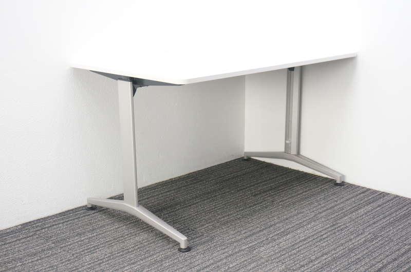 イトーキ DE ミーティングテーブル 1275 T脚 ホワイト