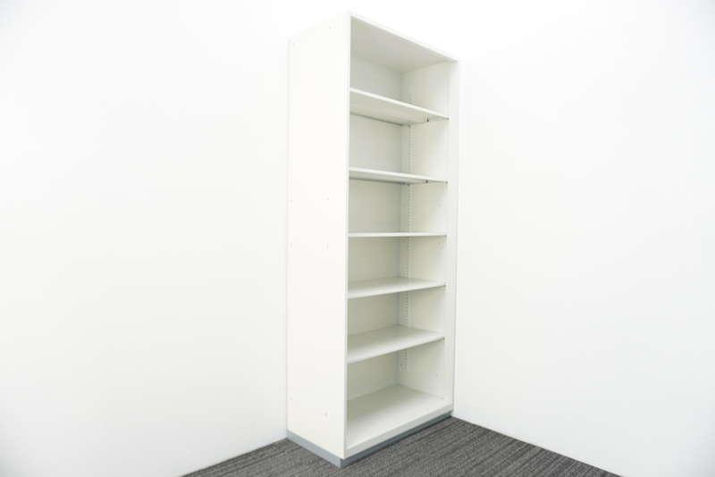 プラス L6 オープン書庫 H2150 ホワイト