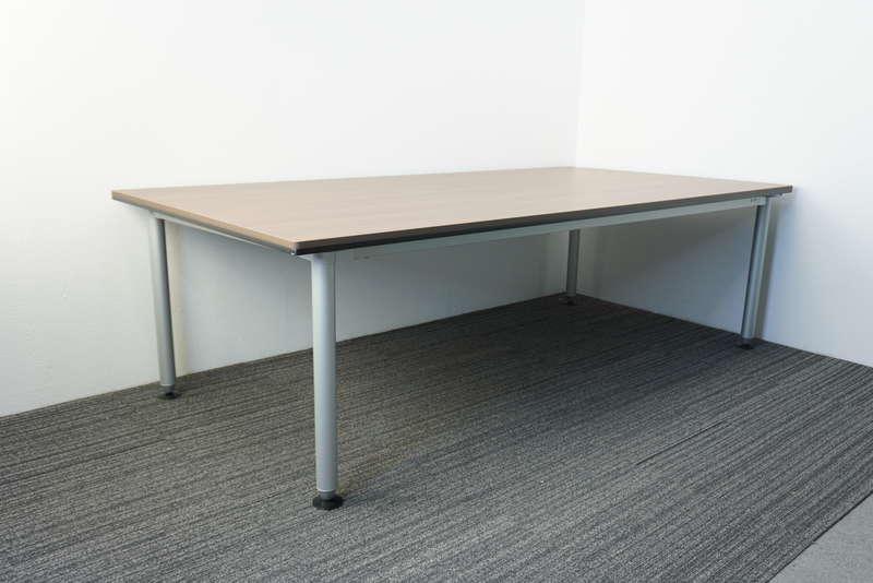 オカムラ DL-6 ミーティングテーブル 2412 ネオウッドダーク