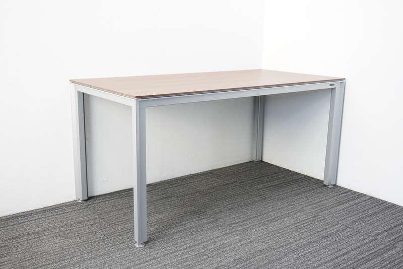オカムラ 4L12 ミーティングテーブル 1575 ネオウッドダーク