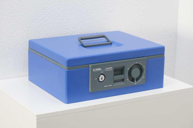 CARL CB-8700 キャッシュボックス ブルー