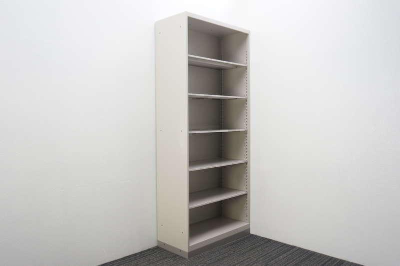 イトーキ シンライン オープン書庫 H2140 WE色