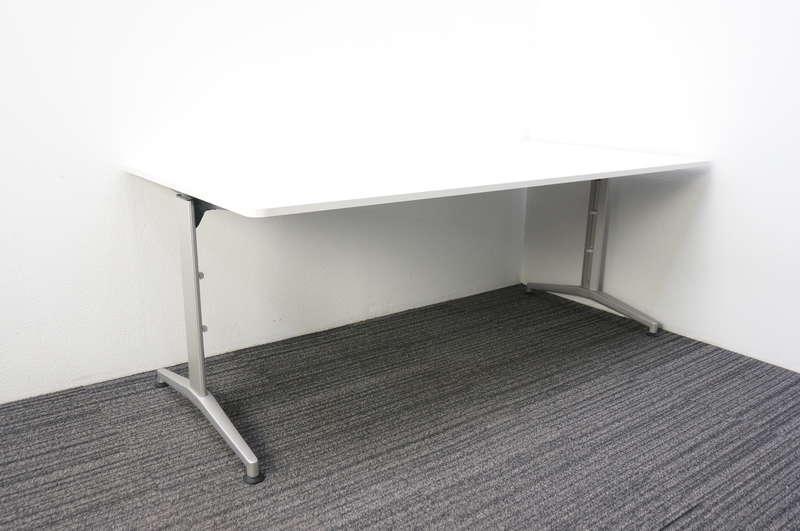イトーキ DE ミーティングテーブル 1890 T脚 ホワイト
