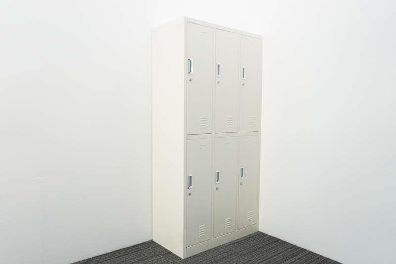 【自社便対応のみ】6人用ロッカー W900 D450 H1850