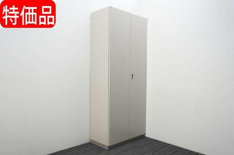 イトーキ シンライン 両開き書庫 H2140 WE色 特価品 (2)