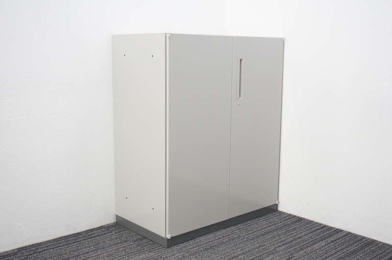 ウチダ ハイパーストレージ 両開き書庫 ダブルベース W900 D500 H1100