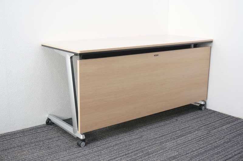 オカムラ エレガスタ ユニットタイプ テーブル 1560 ネオウッドライト