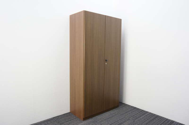 オカムラ DX-4N 木製書棚 H1800 ネオウッドダーク